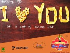 Our Love for banana chips is eternal. Keep that love enact with #OneManShow   For more inquiry visit our Website:http://onemanshow.co.in/ #chips #bananachips #Hungry #Bestchips #Tastychips #appetizer #snack #party #munching #bestfood #tastyfood #teatimesnack