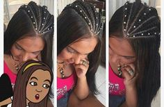 23 Ideas Hair Styles Suelto Awesome For 2019 Trendy Hairstyles, Girl Hairstyles, Braided Hairstyles, School Hairdos, Curly Hair Styles, Natural Hair Styles, Hair Barber, Graduation Hairstyles, Hair Tattoos