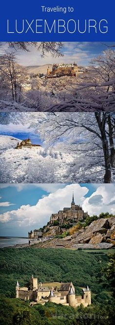 One of the Europe's smallest sovereign states is The Grand Duchy of Luxembourg. The north part of the country is blessed with greenery and hills. The Ardennes provides great scenic view. #travel