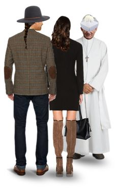 """""""After Mass, They Spoke With Father Stan…Yes, His Good Friend Pastor Graham Was Happy to Have Him Marry Them a 2nd Time in His Church…Both Churches Could Be Set Up Thursday Afternoon, His Would Need to Be Cleared Friday Night, Pastor Graham's on Saturday"""" by maggie-johnston ❤ liked on Polyvore featuring art"""