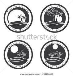 palm tree logo - Google 検索 | Logo Inspiration | Pinterest | Tree ...