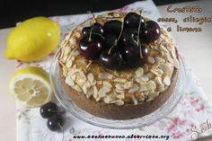 Crostata cocco, ciliegie e limone vegan senza glutine http://www.senzaebuono.it/crostata-cocco-ciliegie-e-limone-vegan-senza-glutine/
