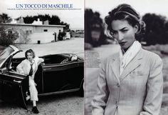 ☆ Tatjana Patitz   Photography by Fabrizio Ferri   For Marie Claire Magazine Italy   March 1992 ☆ #tatjanapatitz #fabrizioferri #marieclaire #1992