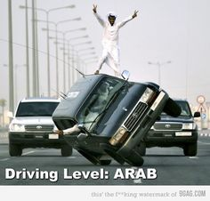 Driving Level: ARAB