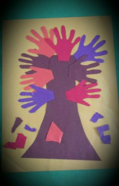 Tree hands by my kinders