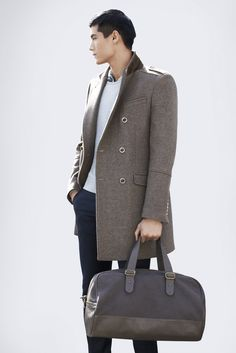 Welcome Autumn! ZARA Man October 2012 Lookbook