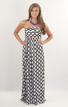 Hourglass Lilly Dresses Hourglass Lilly Game day maxi