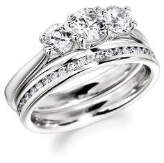 Semi Bespoke | Round Trilogy Engagement Ring | London
