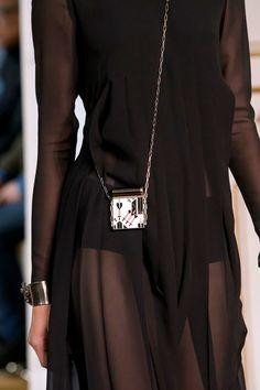 Valentino at Paris Fashion Week Spring 2017 - Details Runway Photos