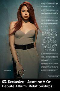 Issue 26 of Glamoholic Magazine featuring Jasmine Villegas wearing Gemy Maalouf!  Glamoholic.com | Current Issue Contents