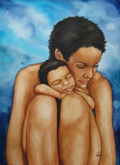 Claudia Tremblay - mother and child