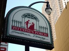 "Pittypat's Porch, located in downtown Atlanta, Georgia, was named after Scarlett O'Hara's aunt in the film, ""Gone with the Wind"". The restaurant, which has been open since 1967, is an Atlanta Tradition."