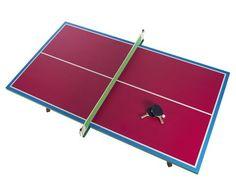You U0026 Me Zuzunaga Ping Pong Table   Magenta