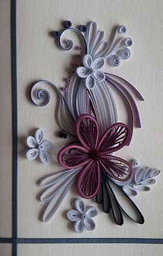 Quilling Card ideas