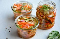 Snelle gefermenteerde groenten