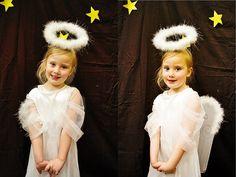 My little Angel's 1st nativity play