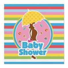 Feest servetten Babyshower. Kraamfeest? Bij Fun en Feest vind je de leukste geboorte versiering en decoratie.