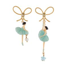 Explore the grace and elegance of ballet jewelry from Parker Edmond. Browse through the Pas De Deux Ballerina collection for ballet dancer jewelry today. Ice Cream Holder, Les Nereides, Buy Candles, Dance Fashion, Wedding Pins, Wedding Bracelet, White Earrings, Necklace Price, Pearl Studs