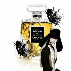 Collage Portrait, Collage Artwork, Mixed Media Collage, Parfum Chanel, Perfume Bottles, Africa, Perfume Bottle