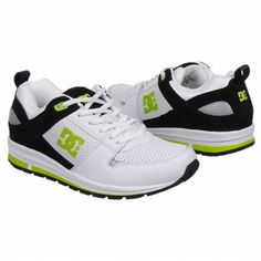 DC Shoes A-250 Shoes (White Black Lime) - Men s Shoes 69f57ef449