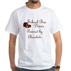 School Bus Driver Shirt on CafePress.com