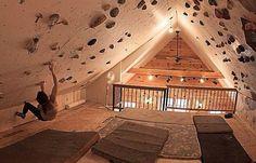 La maison de rêve du grimpeur ! Vous rêviez d'une maison 100% grimpe ? La voilà ! Tous les grimpeurs en rêvent : pouvoir grimper sur tous les murs de sa...