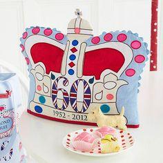 Love the Jubilee tea cozy!