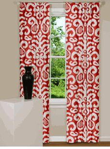 Textured Weave Back Tab Window Curtain Panel Wheat 54x95