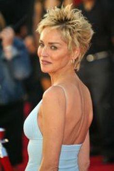 Sharon stone hair
