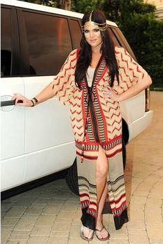 Khloe Kardashian wearing the head jewelry we love! Summer Headbands, Headband Styles, Celebrity Outfits, Khloe Kardashian, Fashion Looks, My Style, Celeb Style, Womens Fashion, How To Wear