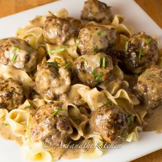 Swedish Meatballs | Art and the Kitchen. This recipe is excellent! Everyone loved them. Worth the time to make.
