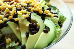 Santa Fe Salad with Peanut Lime Vinaigrette | The Gluten Free Vegan