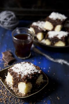St[v]ory z kuchyne Coconut Sheet Cakes, Chocolate Cakes, Tarts, Pudding, Recipes, Food, Mince Pies, Pies, Custard Pudding