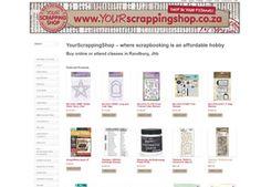 your-scrapping-shop Website designed by Cimplicity Web Design Studio, Bespoke Design, Shopping Websites, Custom Design