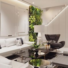 Farooo by Marcel Wanders via Moooi   www.moooi.com   #interiordesign #interior #whiteinterior #floorlamp #lighting