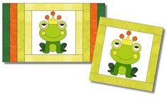 Prinz Quak - pdf Datei für Kissen Frogs, Joy, Quilts, Sewing, Pattern, Decor, Stencils, Appliques, Cushion