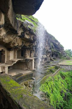 ♂ Travel Pakistan & indian Ellora Verul Caves (Houses Hindu, Jain, and Buddhist temples)