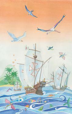 Scoperta dell'America  • Calendario 2012 - Watercolor