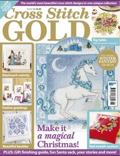 Cross Stitch Gold, October 2013, issue 106.