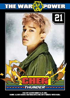 The War : Power of Music Digital Booklet (Chen) Chanyeol, Kyungsoo, Exo Chen, Tao, Exo 2017, Exo Album, Exo Official, The Power Of Music, Young K