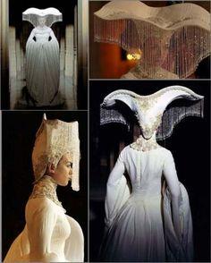 "Eiko Ishioka: Costume from the movie ""The Fall"" Arte Fashion, High Fashion, Fashion Design, Theatre Costumes, Movie Costumes, Fairy Costumes, Eiko Ishioka, Fantasy Costumes, Headdress"