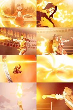 The Legend of Korra + Fire