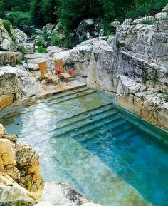 Sublime piscine... ...