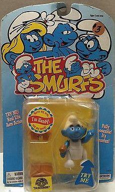 (TAS006697) - Irwin The Smurfs Action Figure - Handy