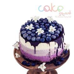 ODC131 Blueberry Theme Cake - 1Kg Designer Cakes