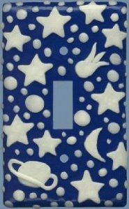 Universe Switchplate by Joan by Joan. $19.00. Universe Switchplate by Joan Kitchen Lamps, Switch Plates, Home Kitchens, Kids Room, Universe, Room Decor, Lighting, Children, Young Children