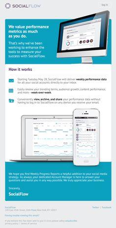 Social Flow – Newsletter HTML email marketing design