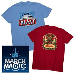 March Magic is back again this year, and now you can support your favorite Disney teams with the team shirts, but you'd better get them fast.