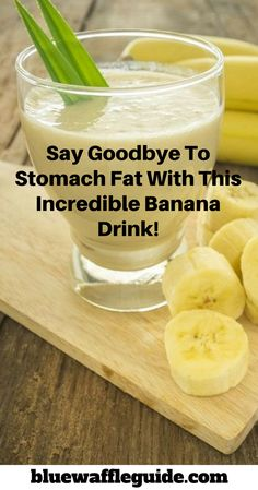 Say Goodbye To Stomach Fat With This Incredible Banana Drink! bluewaffleguide com is part of Natural detox drinks Bananas are a popular tropical fruit with many health benefits Besides treating ma - Healthy Detox, Healthy Smoothies, Healthy Drinks, Smoothie Recipes, Detox Recipes, Healthy Weight, Healthy Food, Smoothie Diet, Easy Detox
