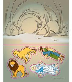 Daniel in the Lion's Den Stickers  2.49